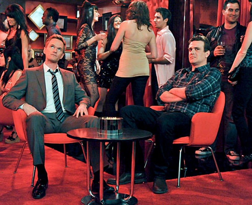 "How I Met Your Mother - Season 6 - ""The Perfect Cocktail"" - Jason Segel, Neil Patrick Harris"