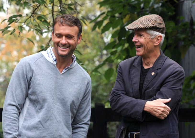 """Who Do You Think You Are - Season 2 - """"Tim McGraw"""" - Tim McGraw and early American historian Warren R. Hofstra,"""