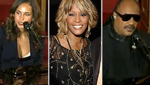 Kevin Costner, Alicia Keys and Stevie Wonder Pay Tribute at Whitney Houston Funeral
