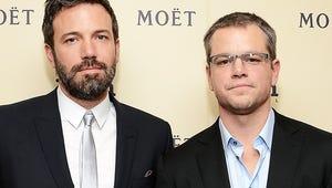 CBS Gives Pilot Order to Comedy From Ben Affleck and Matt Damon