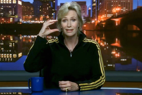 "Glee - Season 2 - "" The Rocky Horror Glee Show"" - Jane Lynch as Sue"