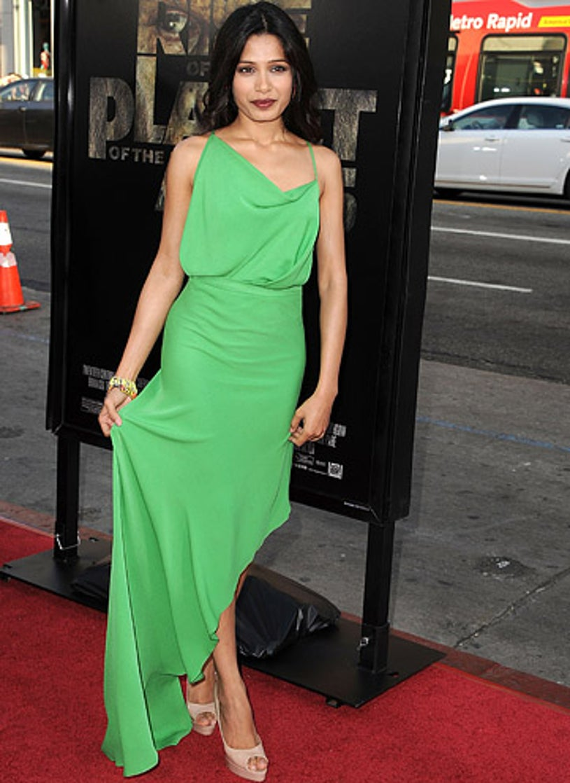 """Freida Pinto - The """"Rise Of The Planet Of The Apes"""" Los Angeles premiere, July 28, 2011"""
