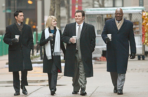 "Cold Case - Season 4, ""8:03 AM"" - Danny Pino, Kathryn Morris, Jeremy Ratchford, Thom Barry"