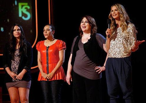Fashion Star - Season 1 - Sarah Parrott, Barbara Bates, Lizzie Parker and Elle Macpherson