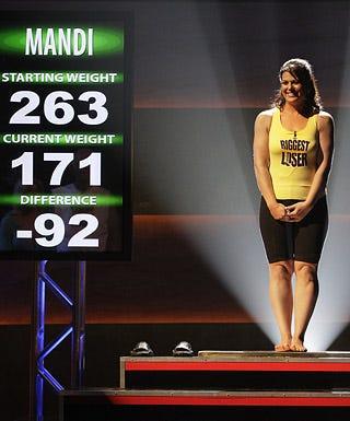 """The Biggest Loser - Season 7 - """"Live Finale"""" - Mandi"""