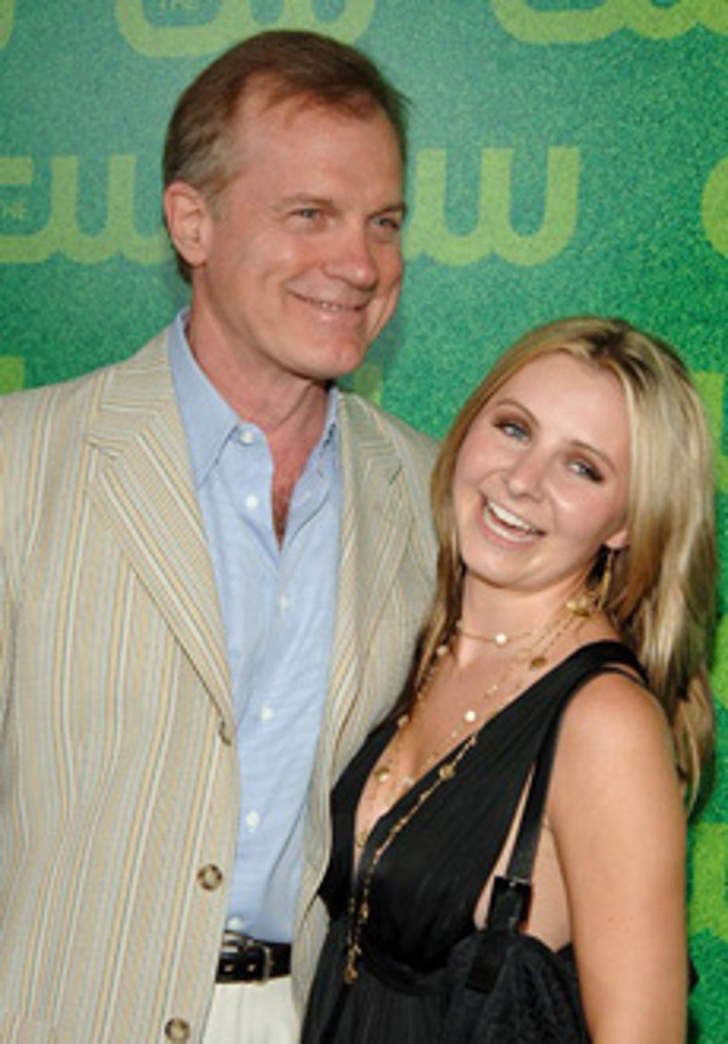Stephen Collins and Beverley Mitchell  - The CW's TCA party, July 2006