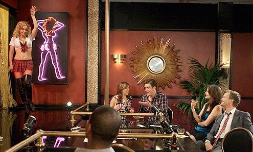 "How I Met Your Mother - Season 5 - ""Double Date"" - Alyson Hannigan, Jason Segel, Cobie Smulders and  Neil Patrick Harris"