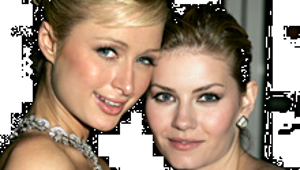 """Paris and """"Kim Bauer"""" Pucker Up, and More News Briefs"""