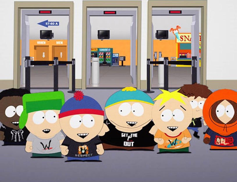 """South Park - Season 13 - """"W.T.F."""" - Token, Kyle, Stan, Cartman, Butters, Jimmy and Kenny"""