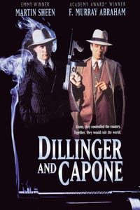 Dillinger and Capone as Al Capone