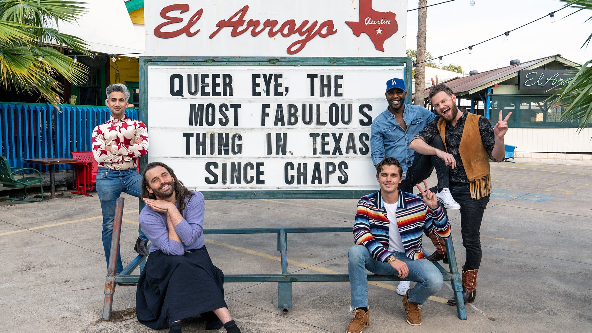 Tan France, Jonathan Van Ness, Antoni Porowski, Bobby Berk, and Karamo Brown, Queer Eye