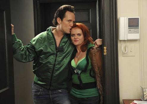 "30 Rock - Season 6 - ""St. Patrick's Day"" - Dean Winters as Dennis Duffy and Melissa McMeekin as Megan"