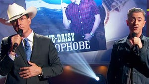 "VIDEO:  Stephen Colbert Parodies ""Accidental Racist"" with Alan Cumming"
