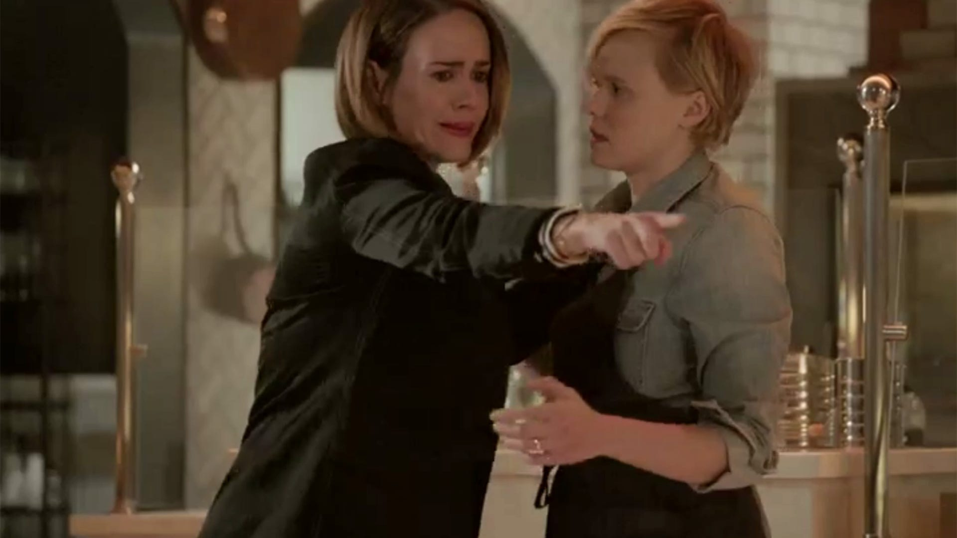 Sarah Paulson and Alison Pill, American Horror Story: Cult