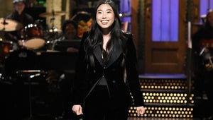 """Awkwafina Shouts Out """"Idol"""" Lucy Liu in Touching SNL Opening Monologue"""