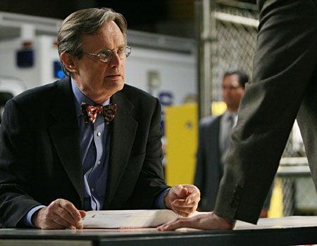 "NCIS - Season 5, ""Internal Affairs"" - David McCallum as 'Ducky'"