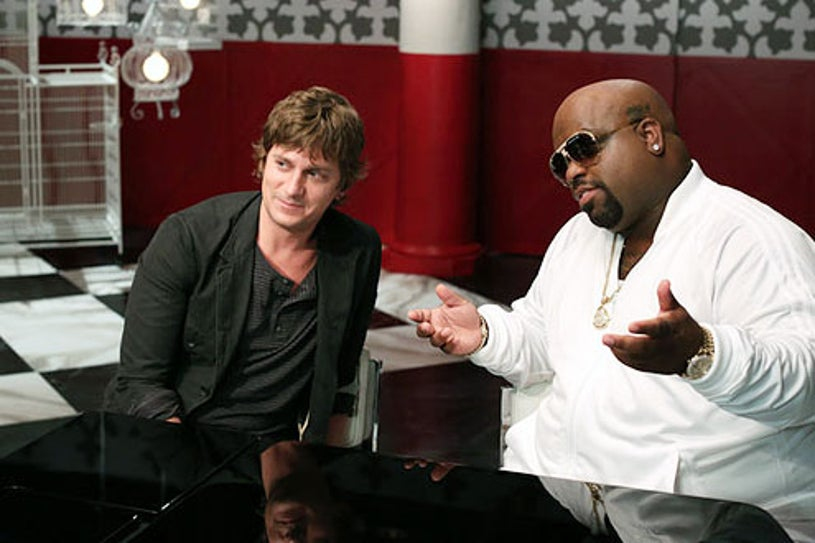 """The Voice - Season 3 - """" The Battles Premiere"""" - Rob Thomas and Cee Lo Green"""
