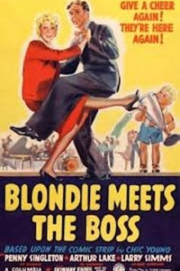 Blondie Meets the Boss as D.C. Dithers