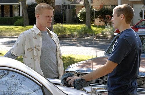 "Friday Night Lights - Season 2 -  ""Who Do you think You Are"" -  Jesse Plemons as ""Landry Clarke"", Zach Gilford as ""Matt Saracen"""