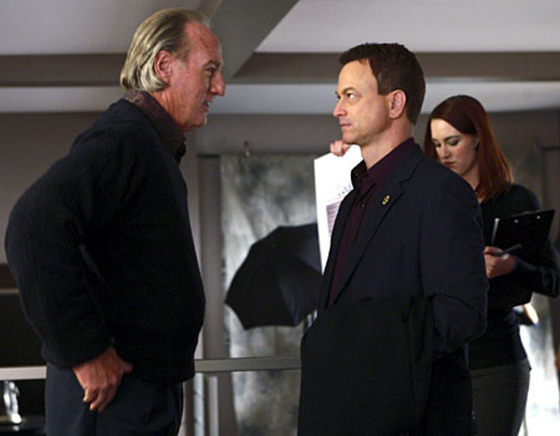 "CSI: NY - Season 5, ""The Party's Over"" - Guest star Craig T. Nelson as Robert Dunbrook, Gary Sinise as Mac"