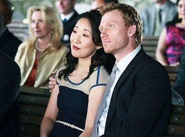 "Grey's Anatomy - Season 7 - ""White Wedding"" - Sandra Oh, Kevin McKidd"