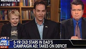 VIDEO: Senate Candidate and His 5-Year-Old Son Sit for Bizarre Interview with Fox News