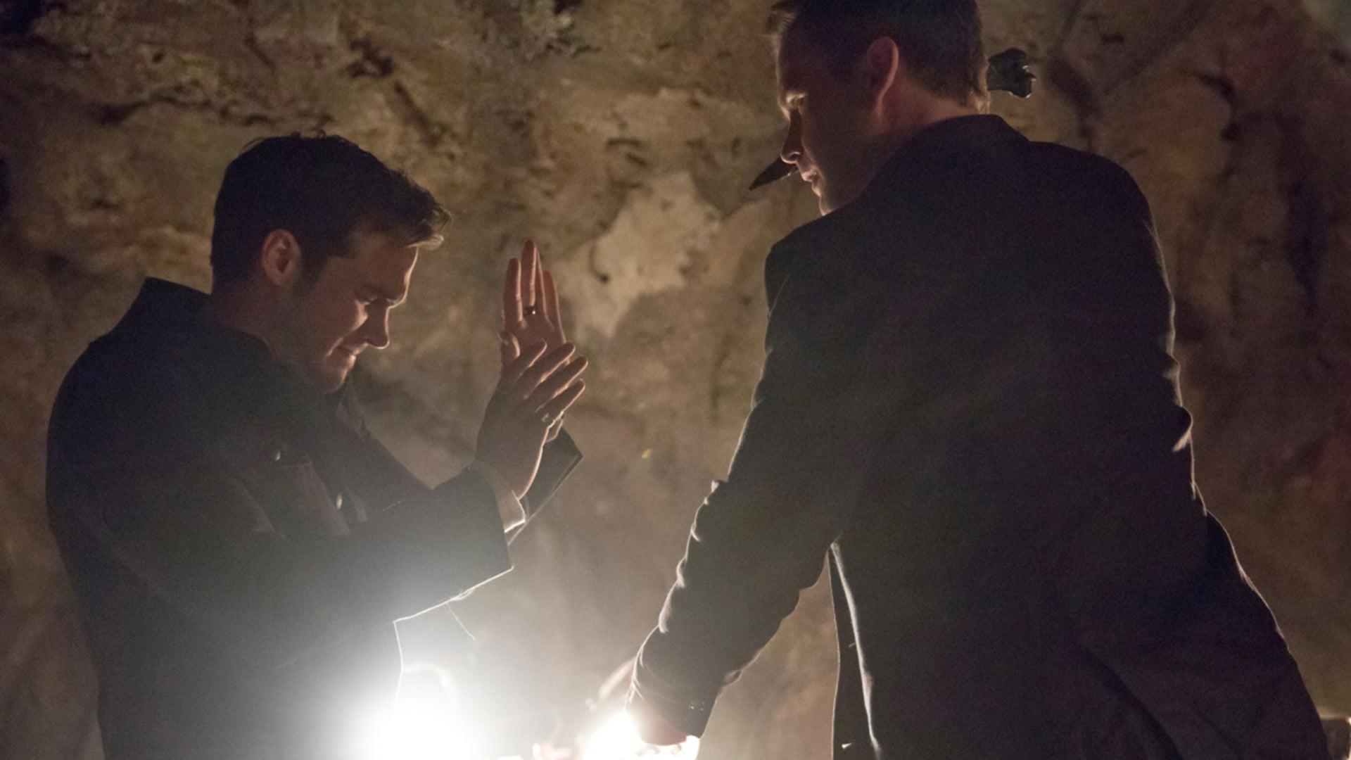 Chris Wood and Matt Davis, The Vampire Diaries