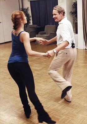 Dancing With The Stars - Season 13 - Anna Trebunskaya and Carson Kressley