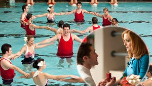 Top Moments: Glee's Synchronized Proposals and Ryan Seacrest's Evil Twin