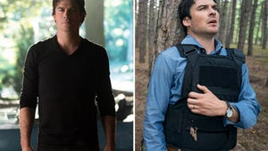 Watch Ian Somerhalder Play Would You Rather: TVD's Damon Salvatore or V Wars' Luther Swann?