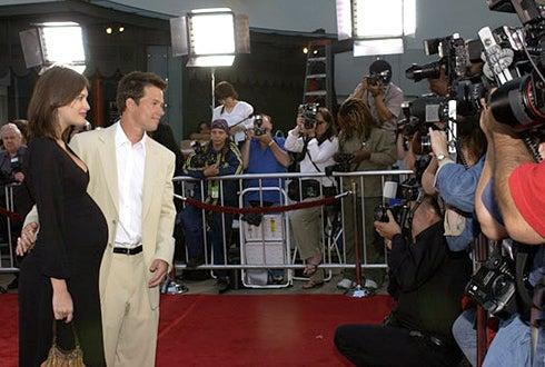 "Rhea Durham and Mark Wahlberg - Premiere of ""The Italian Job"" -  2003"
