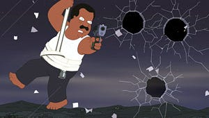 The Cleveland Show Goes to the Movies With Die Hard Parody