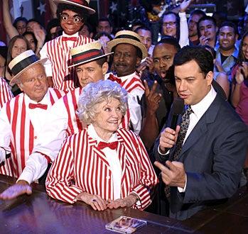 Jimmy Kimmel Live - Dick Van Patten, Barry Williams,  Willie Tyler and Lester, Phyllis Diller, Wayne Brady and Jimmy Kimmel