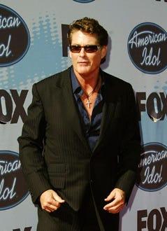 """David Hasselhoff - """"American Idol"""" Season 5 finale, May 24, 2006"""