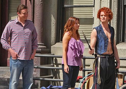 "How I Met Your Mother - Season 5 - ""Doppelgangers"" - Jason Segel, Alyson Hannigan, Neil Patrick Harris"