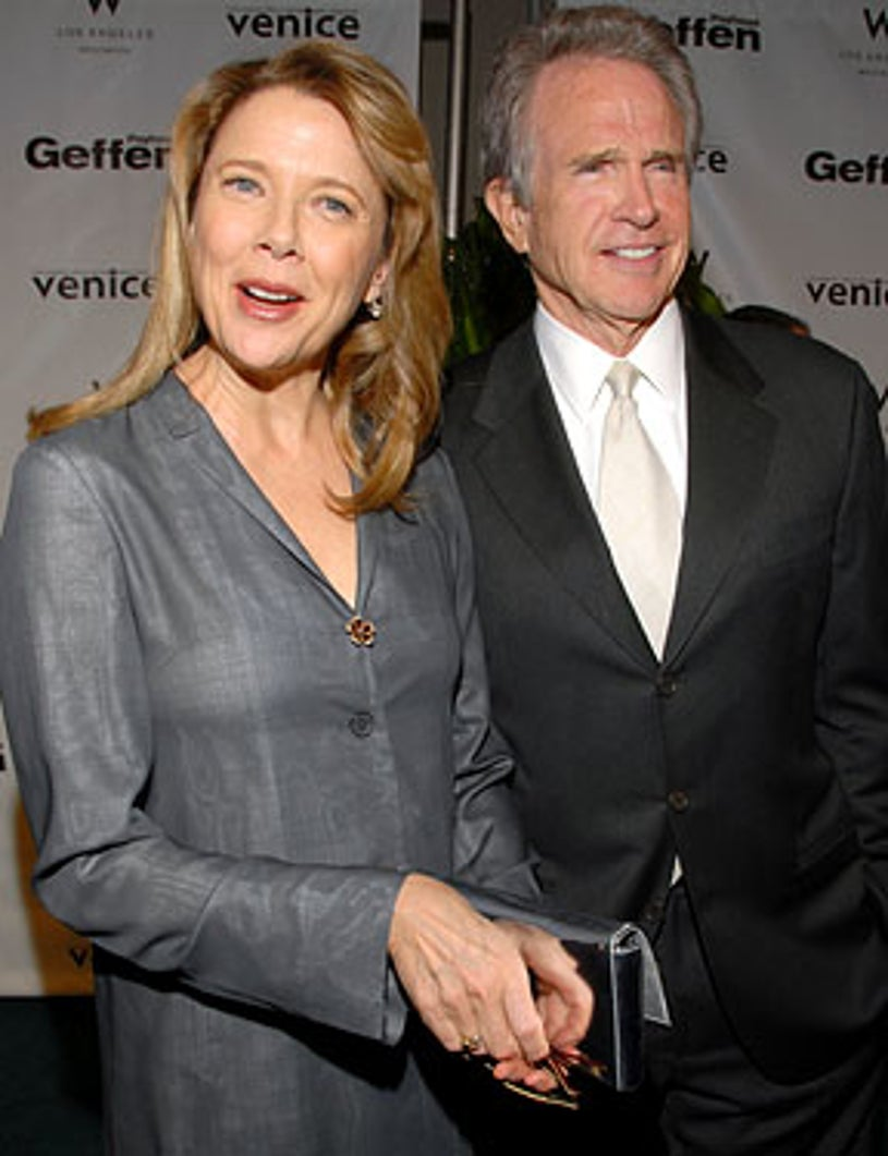 Annette Bening and Warren Beatty - The Geffen Gala Honoring Robert A. Iger and Annette Bening, March 17, 2008