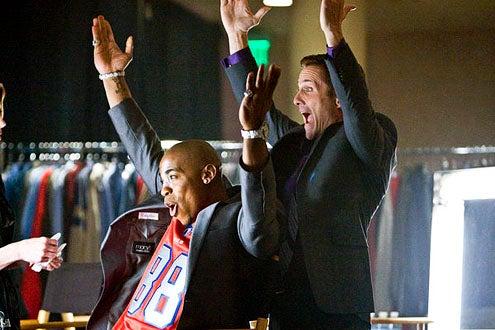 "Necessary Roughness - Season 2 - ""Shrink or Swim"" - Mehcad Brooks and Rob Estes"