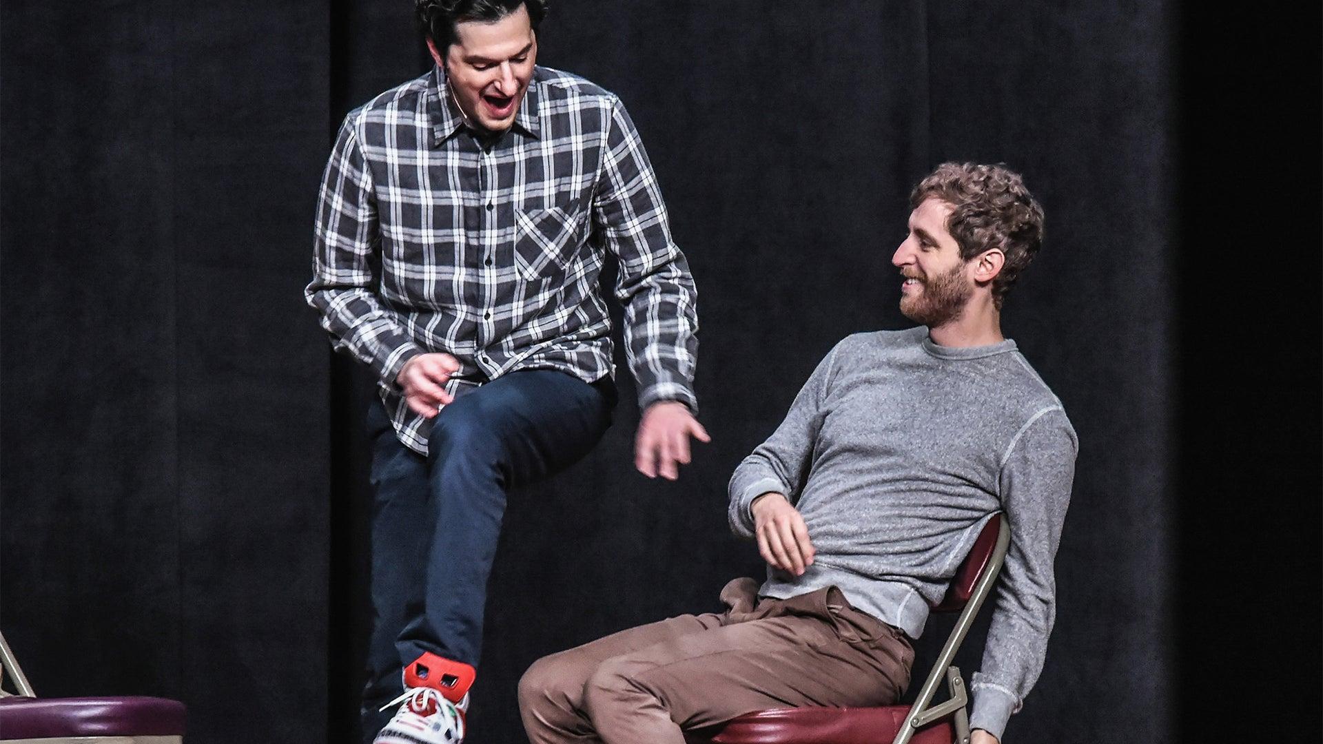 Ben Schwartz and Thomas Middleditch