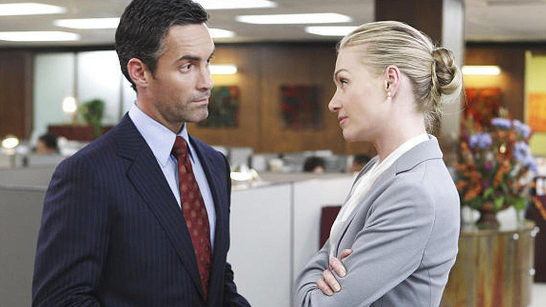 Jay Harrington and Portia de Rossi, Better Off Ted