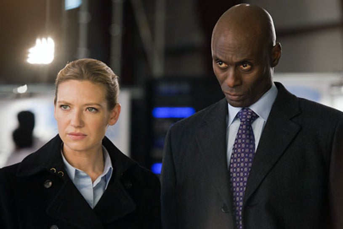"Season 3 - "" Reciprocity"" - Anna Torv and Lance Reddick"