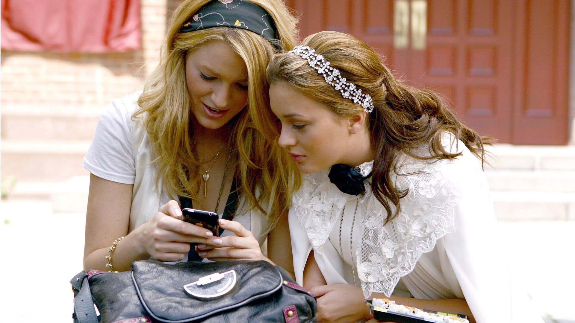 Blake Lively and Leighton Meester, Gossip Girl