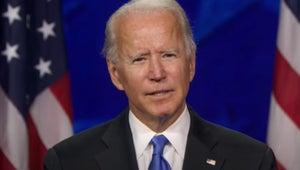 Stephen Colbert Calls Joe Biden 'Water in the Desert' After DNC Acceptance Speech