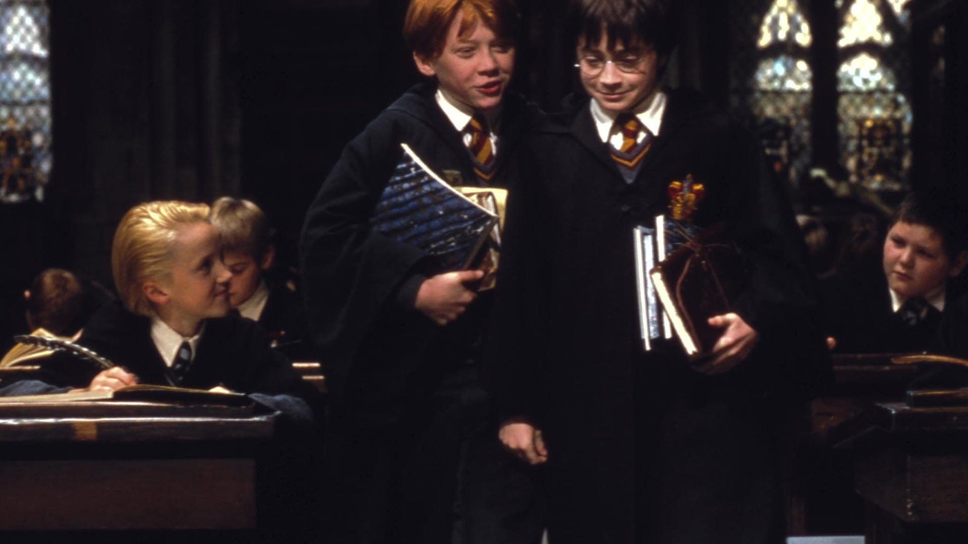Daniel Radcliffe and Rupert Grint, Harry Potter