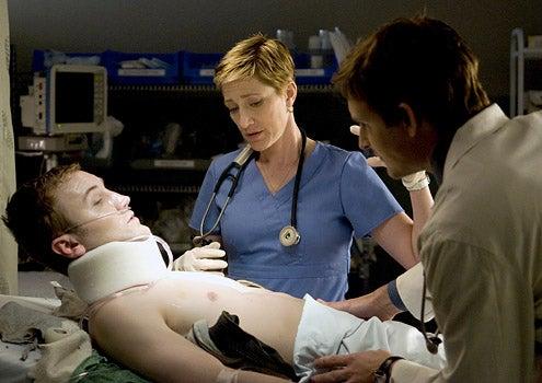Nurse Jackie - Edie Falco as Jackie O'Hurley
