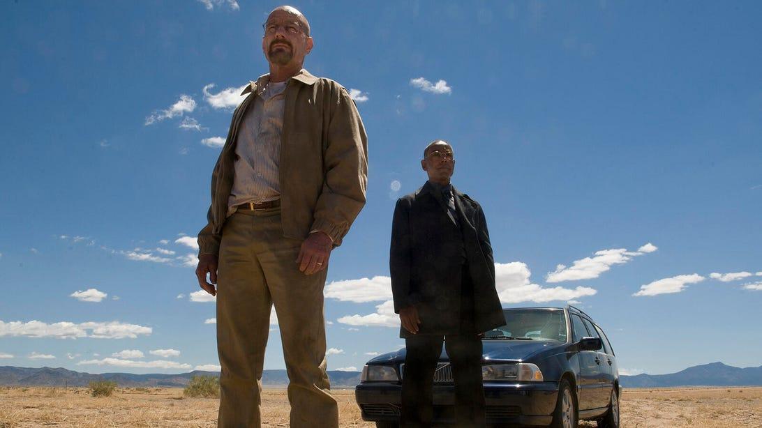 Bryan Cranston and Giancarlo Esposito, Breaking Bad