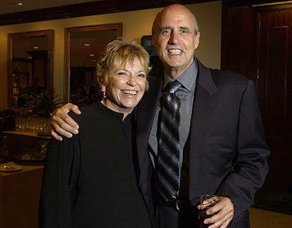 Linda Ellerbee and Jeffrey Tambor - The 20th Annual TCA Awards, July 17, 2004