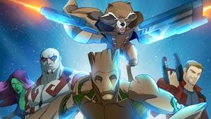Ooh Child! Check Out the Epic Guardians of the Galaxy Series Poster