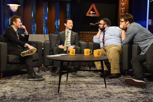 The Nerdist - Season 1 - Episode 1 - Chris Hardwick, Joseph Gordon Levitt, Matt Mira, Jonah Ray