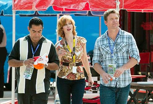 "The Glades - Season 2 - ""Moonlighting"" - Carlos Gomez, Sharon Lawrence and Matt Passmore"