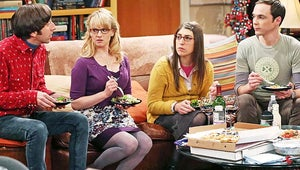Keck's Exclusives First Look: The Big Bang Theory's Sheldon and Amy Board the Love Train